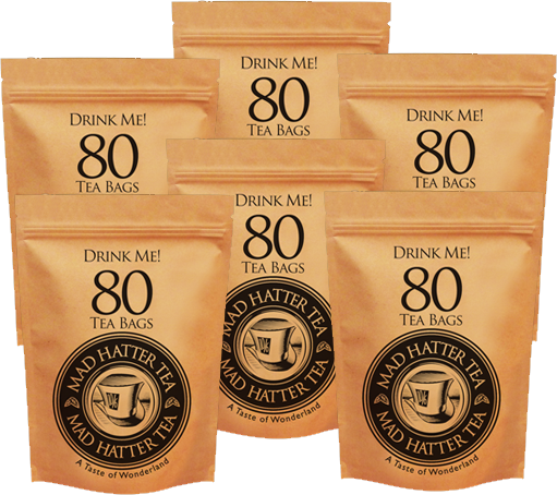 Mad Hatter: Teabags 80s Retail Multipack 6x250g